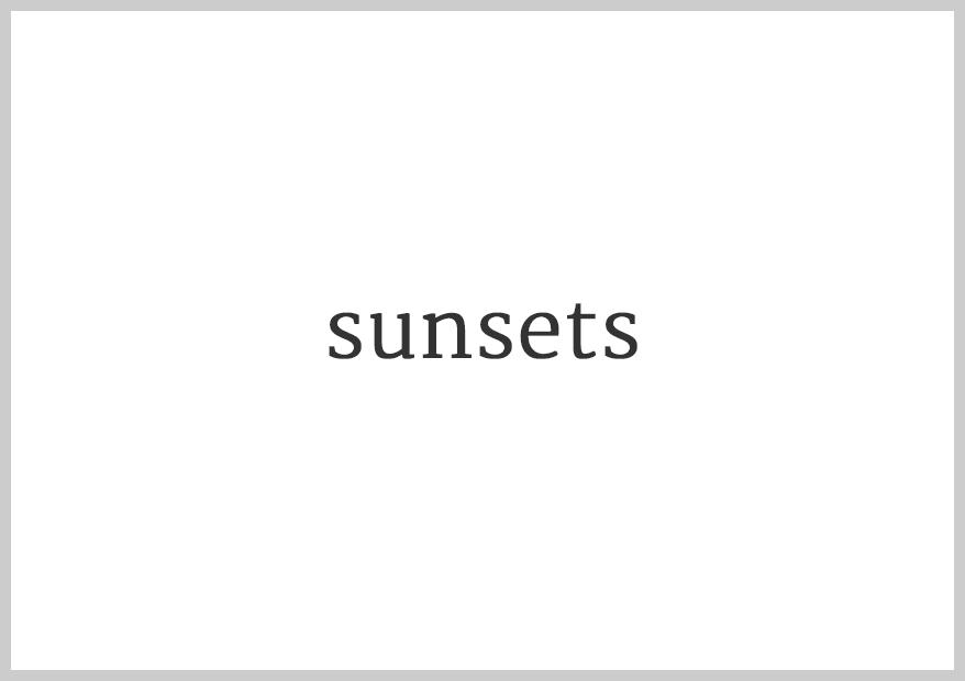 Annaka Harris | sunsets